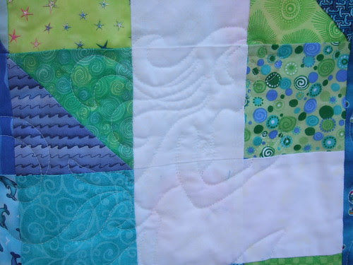 Mermaid quilting