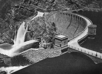 The Roosevelt Dam, Phoenix, Arizona