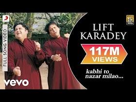 Adnan Sami - Lift Karadey Video   Kabhi To Nazar Milao