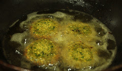 Frying Falafel 2