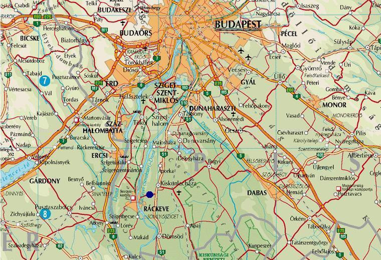 ráckeve térkép Ráckeve Térkép | Térkép