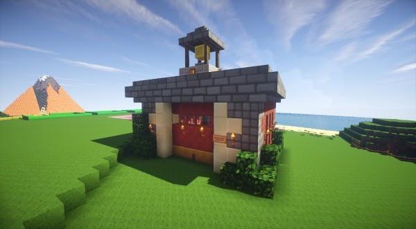 Gambar Rumah Minecraft Keren - QQ Rumah