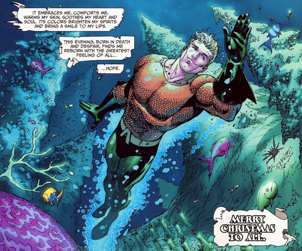 Merry Christmas from Aquaman