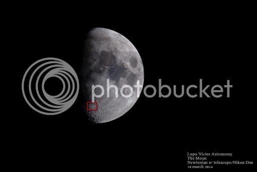 Astronomy moon craters telescope Deslandres