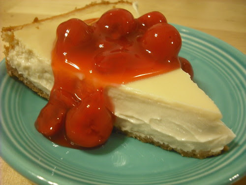 Not-So-Plain Vanilla Cheezcake