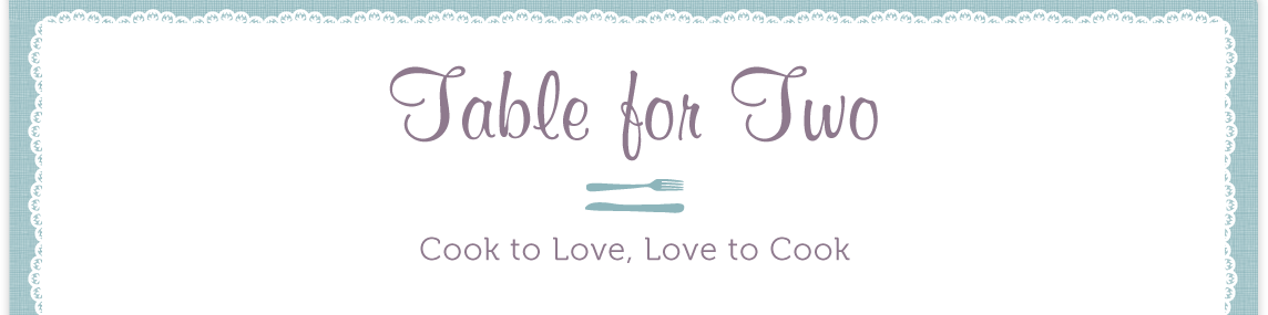 Table for Two logo