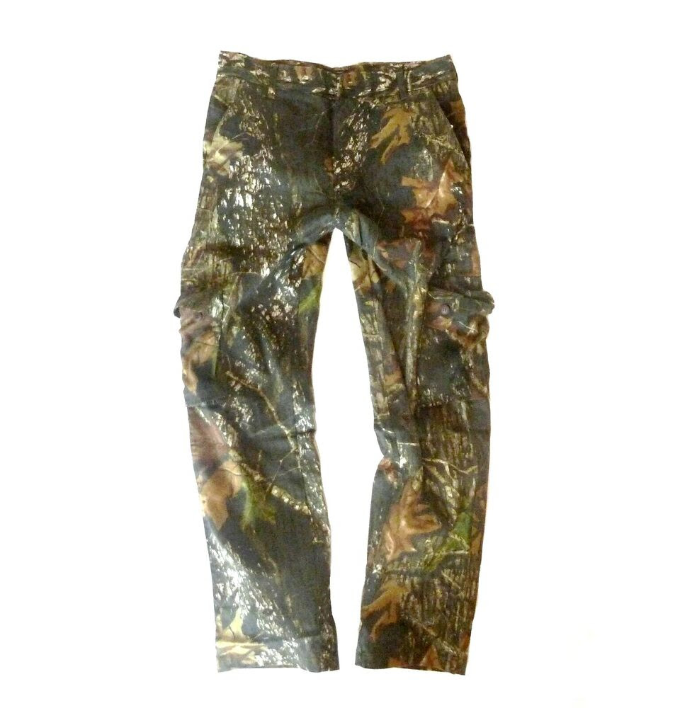gents oak tree camo combat trousers mens 100 cotton