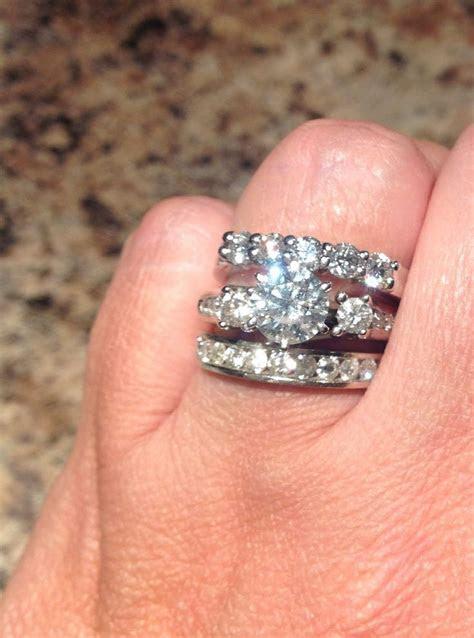 10 year diamond anniversary band. Wedding ring and wedding