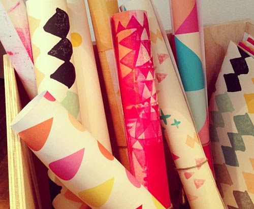Print space wrapping papers