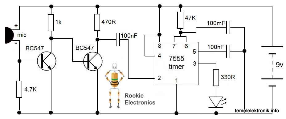 20 Images How To Make A Clap Switch Circuit Diagram