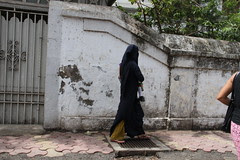The Muslim Mother On First Day of School After Vacations by firoze shakir photographerno1