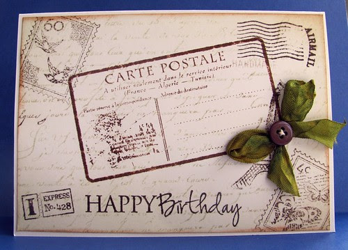 Postcard Birthday