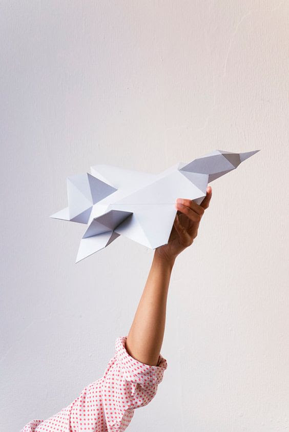 fly a paper plane