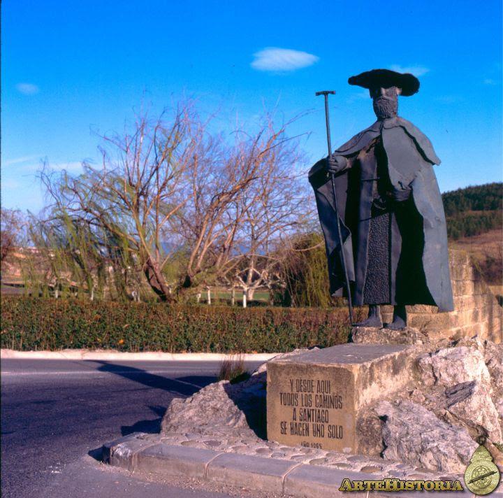 Monumento al Peregrino (Puente la Reina, Navarra)