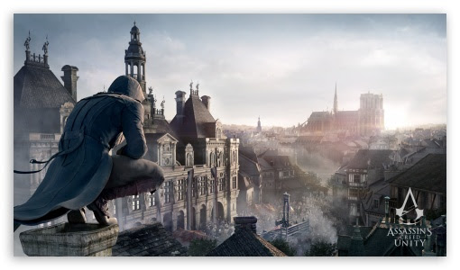 Assassin S Creed Unity Ultra Hd Desktop Background Wallpaper For Images, Photos, Reviews