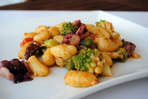 gnocchi polpo e broccoli 027