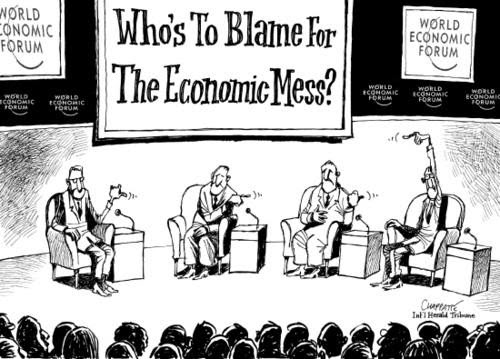 Image result for Davos cartoon
