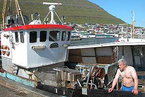 Fisherman of Klaksvík, Faroe Islands.Magnus Jo...