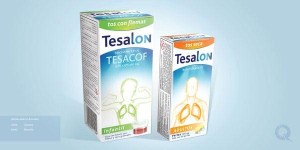 Tesalon Medicine Packaging designs 3 30+ Beautiful Examples of Medicine Packaging Designs For Inspiration