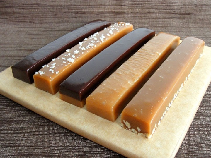 You Choose Five Caramel and Nougat Bars by Have It Sweet