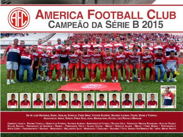 America-RJ Campeão