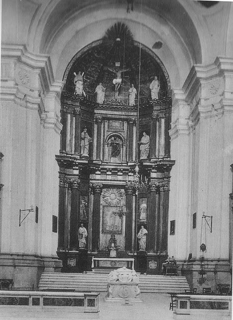 Iglesia del Hospital Tavera a principios del siglo XX