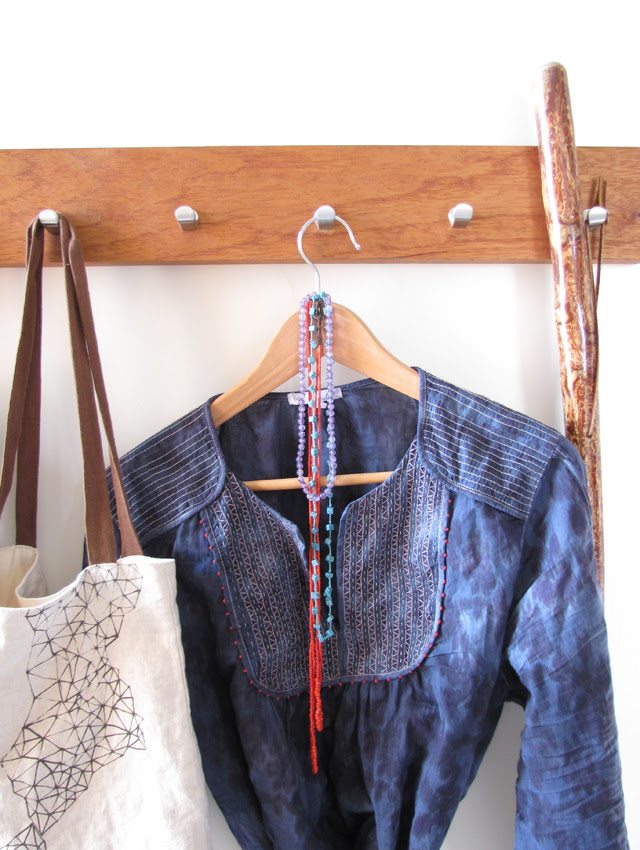 Overdyed & Embroidered