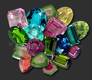 Image result for rainbow tourmaline