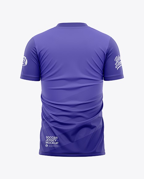 Download 25+ Mens Crew Neck Soccer Jersey Mockup Back View Football ...