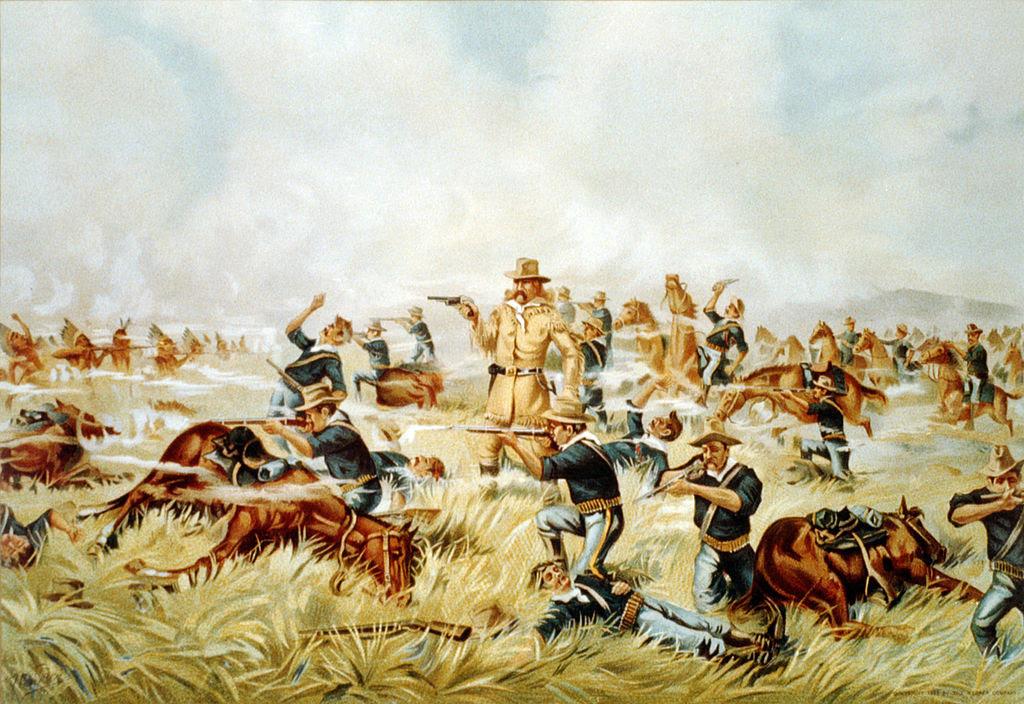 Custer Massacre At Big Horn, Montana June 25 1876.jpg
