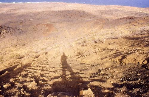 1992. Camino de bajada, tras la fiesta de El Socorro