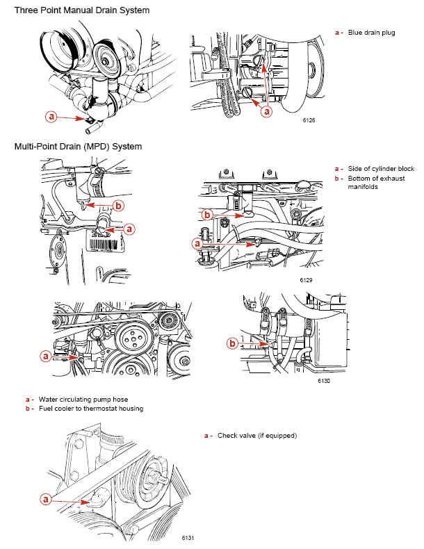 34 43 Mercruiser Drain Plugs Diagram