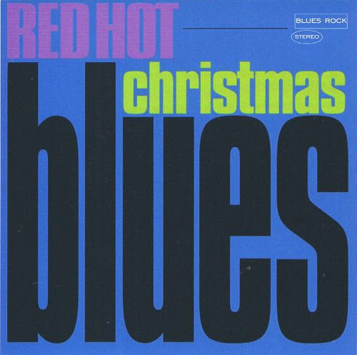 Red Hot Christmas Blues front