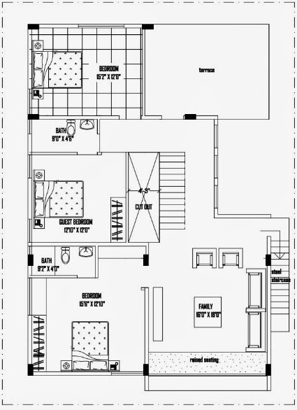 40 Feet By 50 Feet Home Plan Everyone Will Like Acha Homes