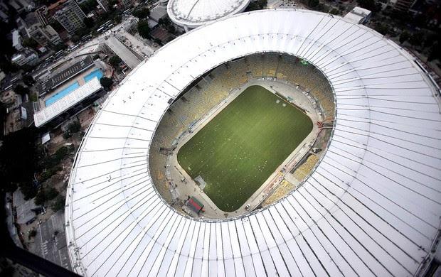 Maracanã obras cobertura Copa 2014 (Foto: Reuters)