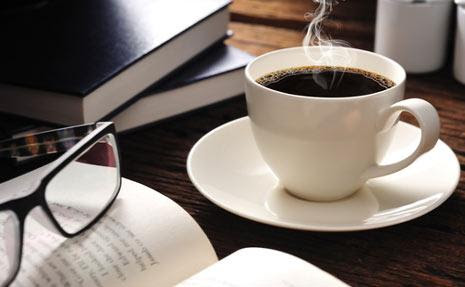 Image result for book and coffee
