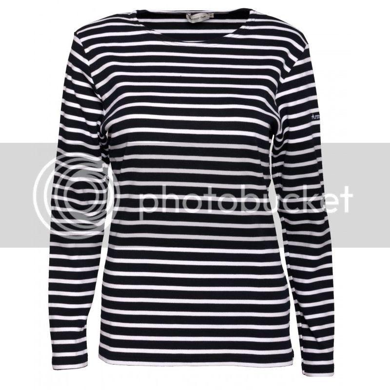 Armor Lux Lesconil marine-weiß Damen Streifenshirt