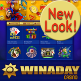 WinADay's Stylish New Look Gives Instant Access to One-of-a-Kind Slot Games