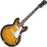 Epiphone ETJLVSNH1 Inspired By John Lennon 1965 Casino Outfit Semi-Hollow-Body Electric Guitar, Vintage Sunburst...