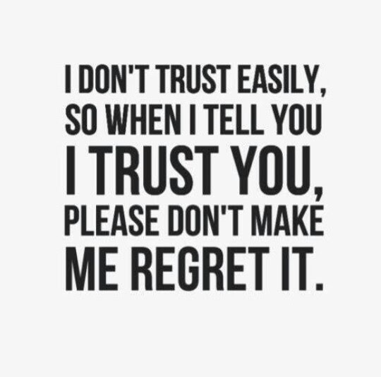 Quotes About Dont Trust People 91 Quotes