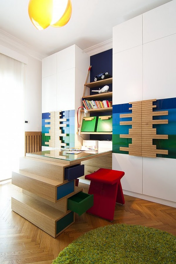 Fresh Modern Kids Bedroom Designs