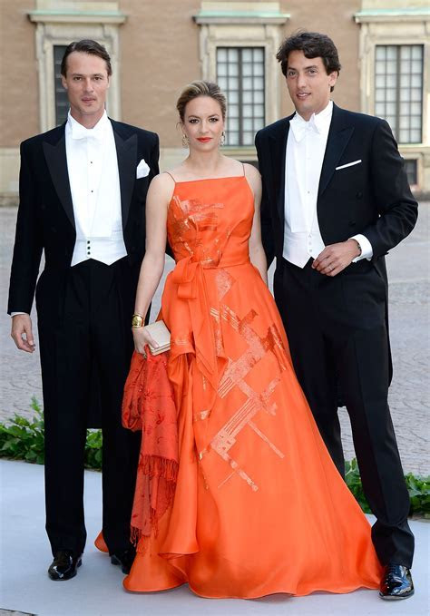 Swedish Royal Wedding: Ceremony Guests. I love an orange