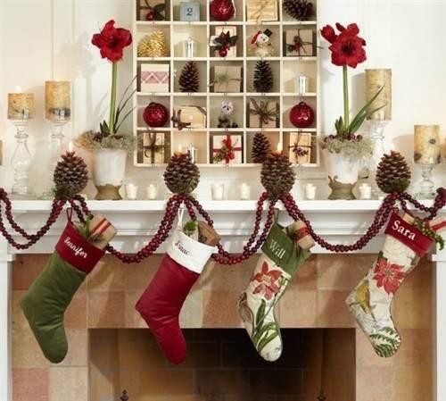 Resultado de imagem para decoração de natal na sala de estar