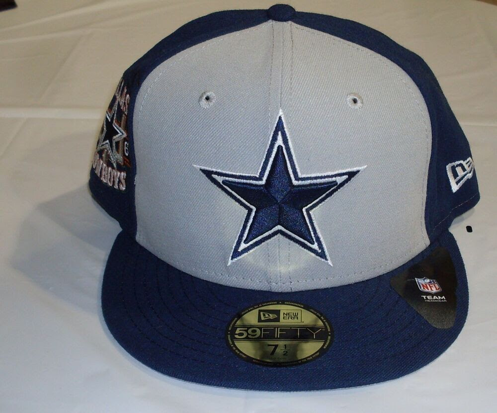 NWT NFL NEW ERA CUSTOMIZER 5950 FITTED CAP HAT  DALLAS COWBOYS SIZE 7  eBay