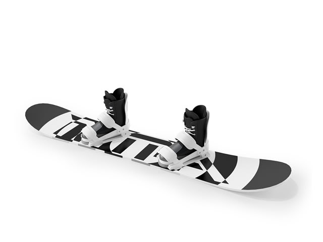 MMD Snowboard and Boots