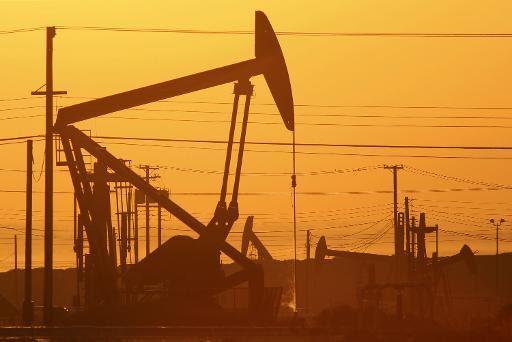Una instalación petrolífera que utiliza la técnica del 'fracking', en California el 24 de marzo de 2014. Foto: AFP.