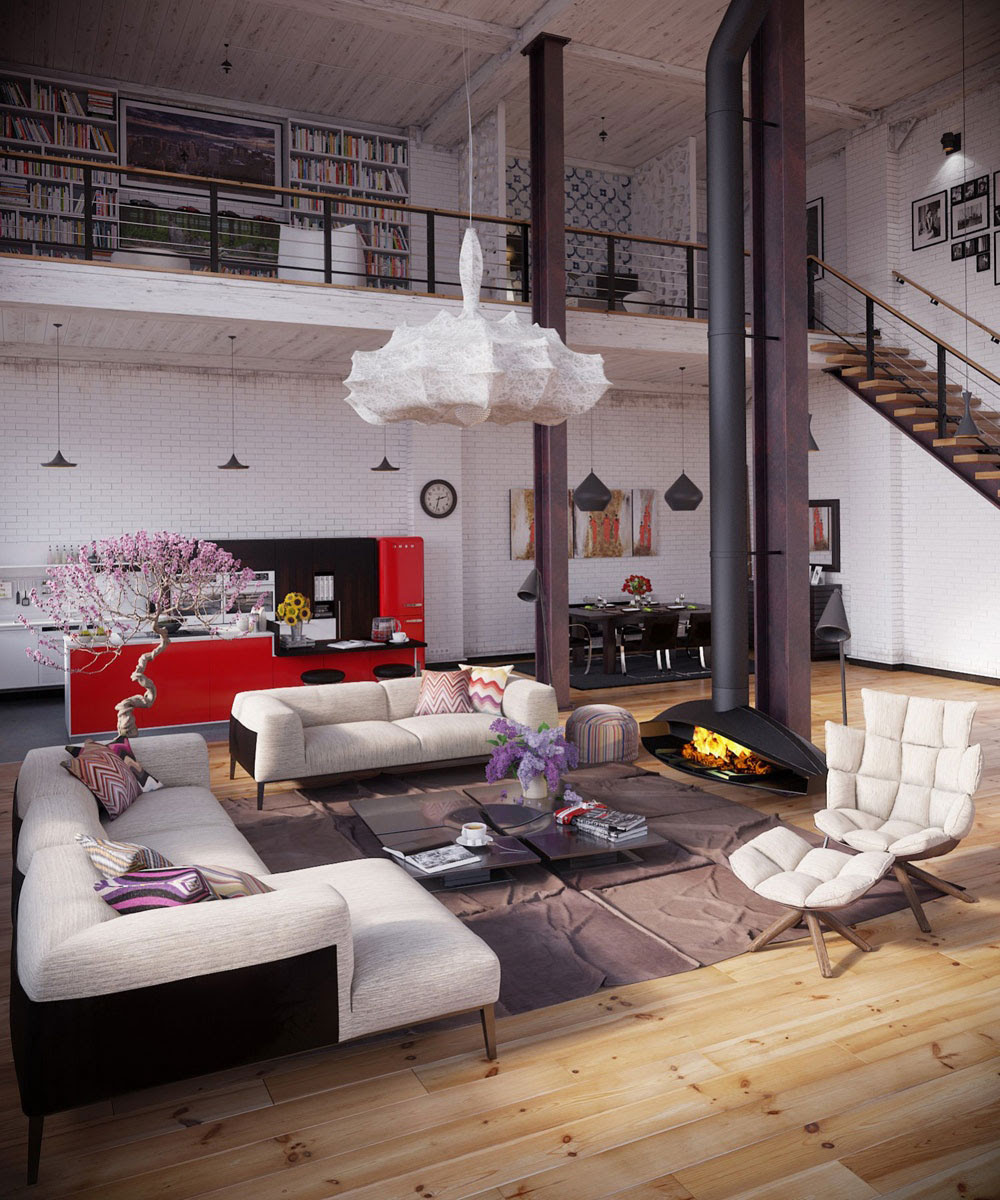 Living Large How To Decorate A Loft Apartment Abode