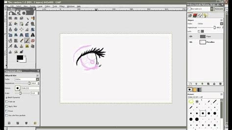drawing  anime  gimp   tablet youtube