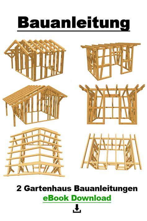 gartenhaus selber bauen bauanleitung altin