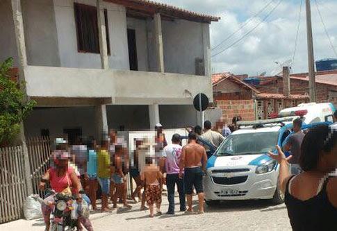 Tentativa de homicídio ocorreu na manhã deste sábado em Valente | Foto: Leitor do Notícias de Santaluz